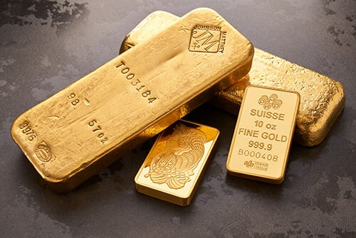 Gold Bullion Bars for Sale