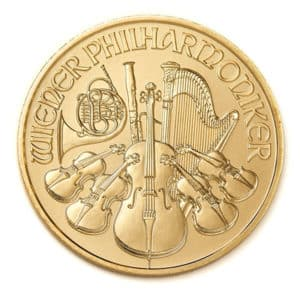 1 oz. Gold Vienna Philharmonic Coin