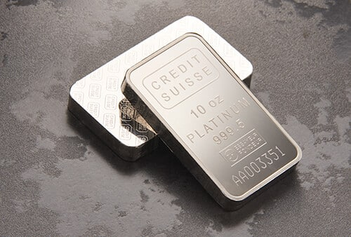Platinum Bullion Bars for Sale