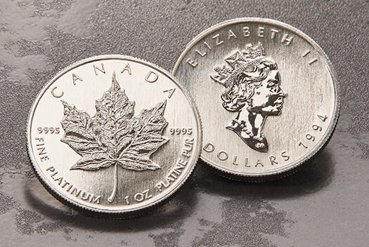 Platinum Maple Leaf Coins for Sale